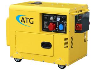 Бензиновый генератор в Тюмени купить с шумоизоляцией